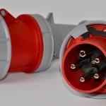 Przedłużacze gumowe H07RN-F 3 fazowe 5 żyłowe 63 A