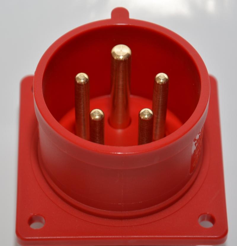 Wtyczka tablicowa PCE 32A IP44/54 625-6