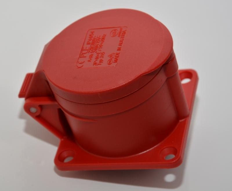 Gniazdo tablicowe PCE 16A IP44/54 315-6