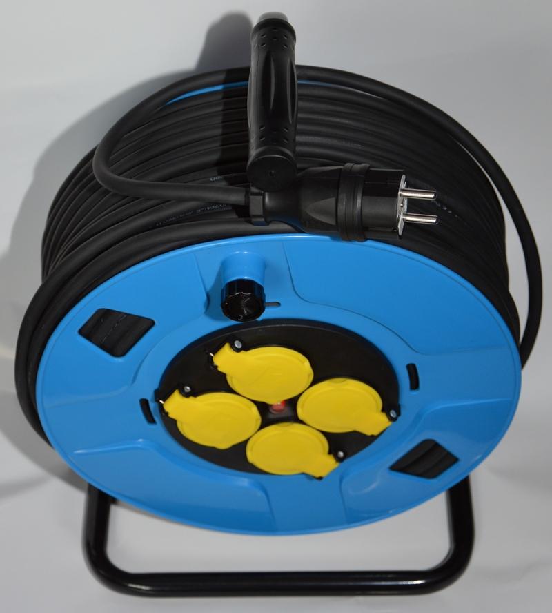 H05RR-F OW 3×1,5 15m gumowy przedłużacz na bębnie