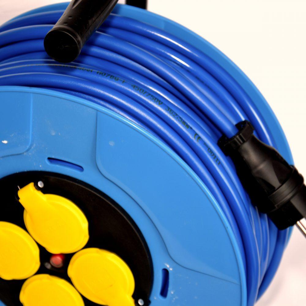 Przedłużacz gumowy poliuretan, 3×2,5 30m, H07BQ-F
