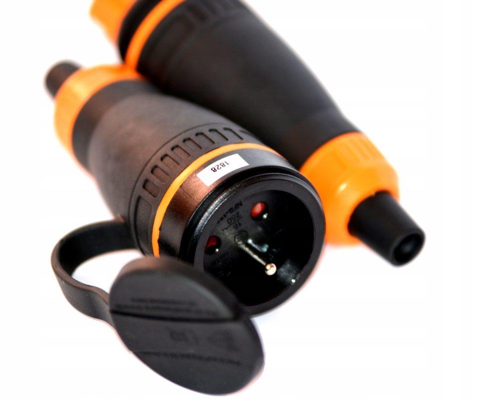 Gniazdo gumowe 16A, IP44, ekskluzywne bezpieczne