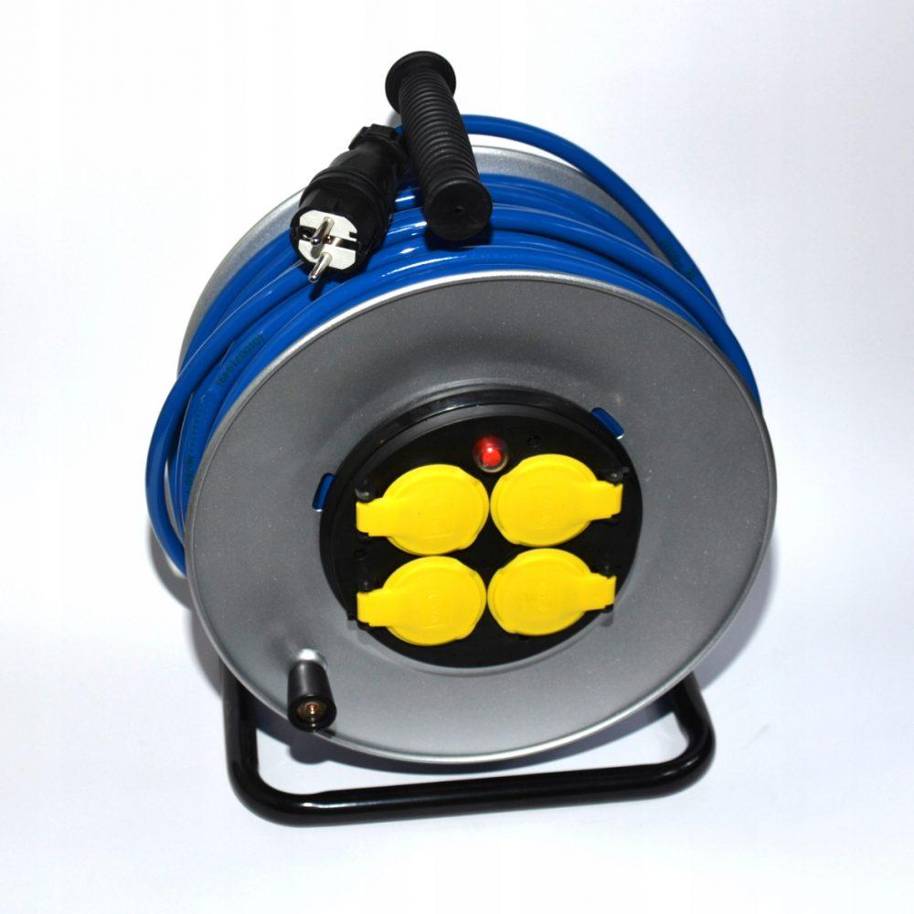 Przedłużacz gumowy poliuretan, 3×2,5 45m, H07BQ-F