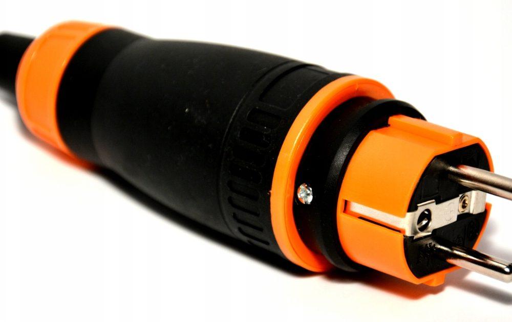 Wtyczka gumowa 16A, IP44, ekskluzywna bezpieczna