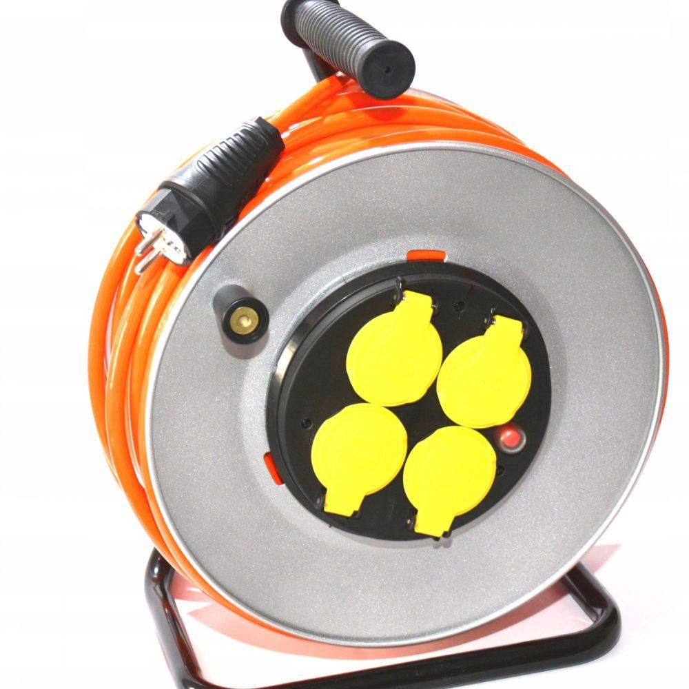 Przedłużacz gumowy poliuretan, 3×2,5 2m H07BQ-F POMARAŃCZOWY